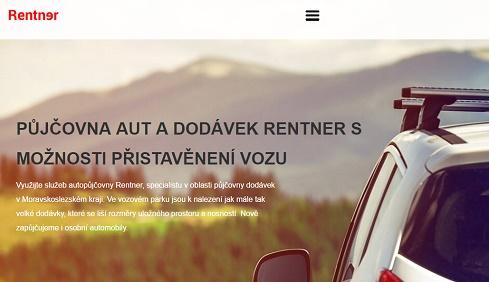 Rentner.cz půjčení dodávek Ostrava