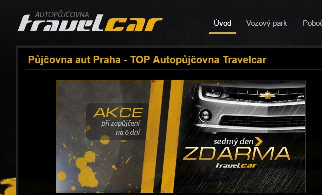Půjčovna aut TravelCar Louny